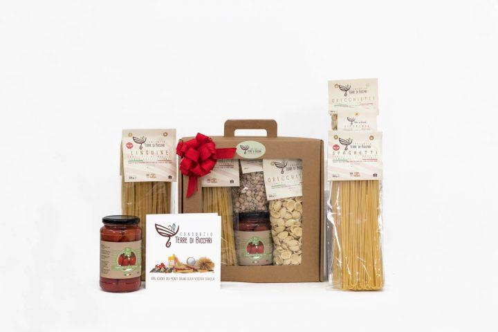 Valigetta Gourmet Natalizia con vari formati di pasta Terre di Biccari