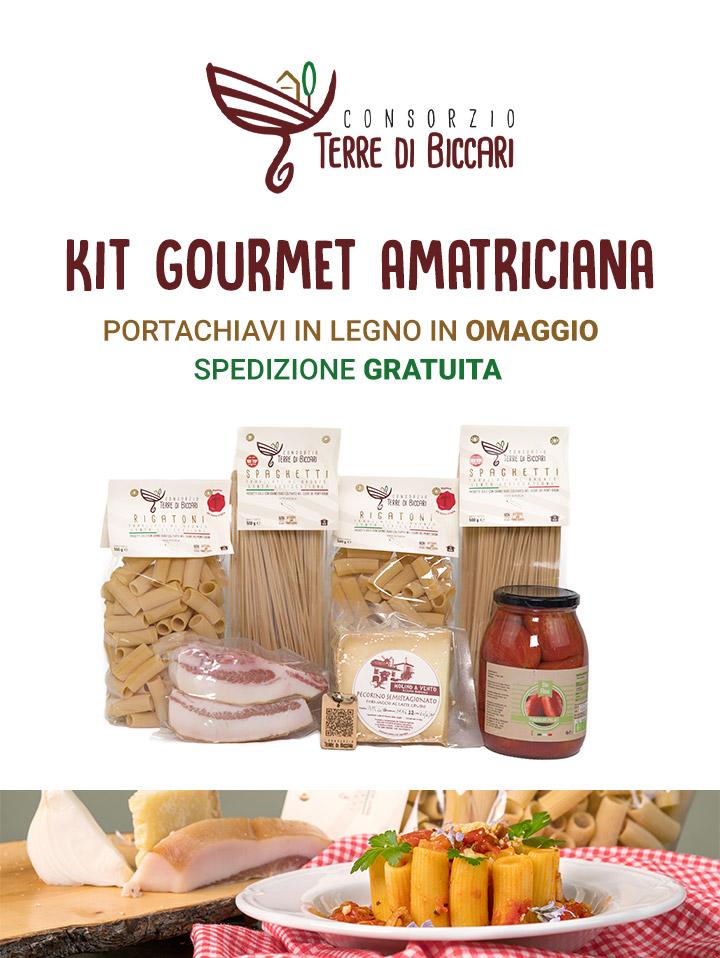 KIT Gourmet Amatriciana vendita online